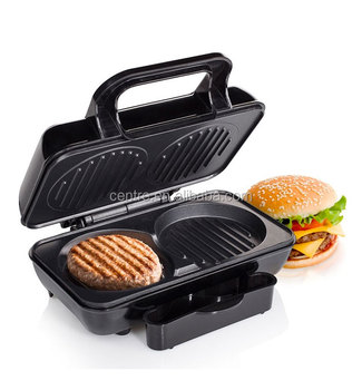 home use electric Fried toast bake hamburger maker/hamburger grill/Sandwich Maker/800W