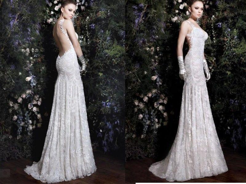 Country Lace Wedding Dress Vestido Novia Sexy 2014 See