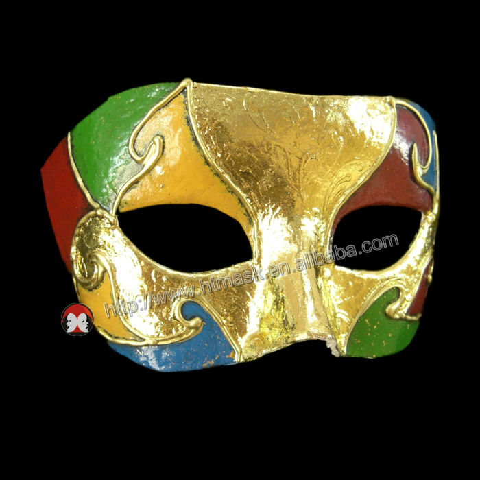 Wholesale Hand Paint Mask Dancing Party Masks Carnival Mask The