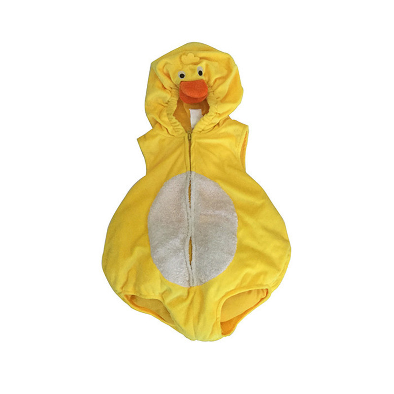 Factory direct sale open type latest children duck costume