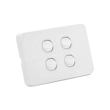 AU Standard Slimline type 4 gang wall switch