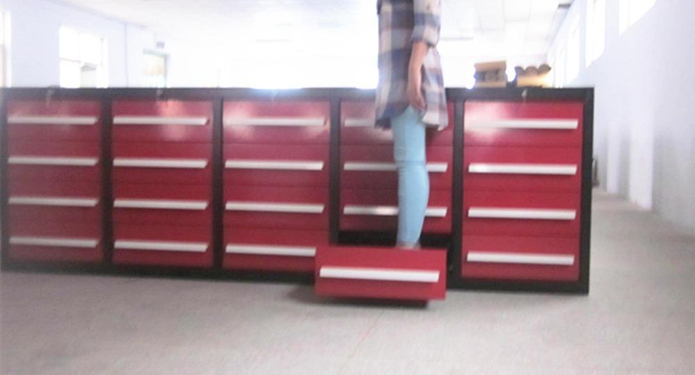 Large Tool Storage Cabinet Assembling / Metal/ Steel Garage Tool ...