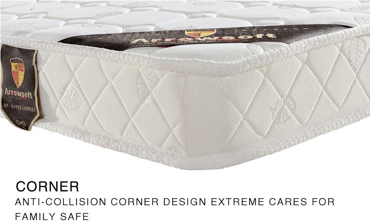 Dormitory Cheap Bonded Foam Single Bunk Bed Mattresses