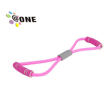 Fitness Resistance Band Rope Tube Latex Pedal Exerciser Elastic Exercise Equipment