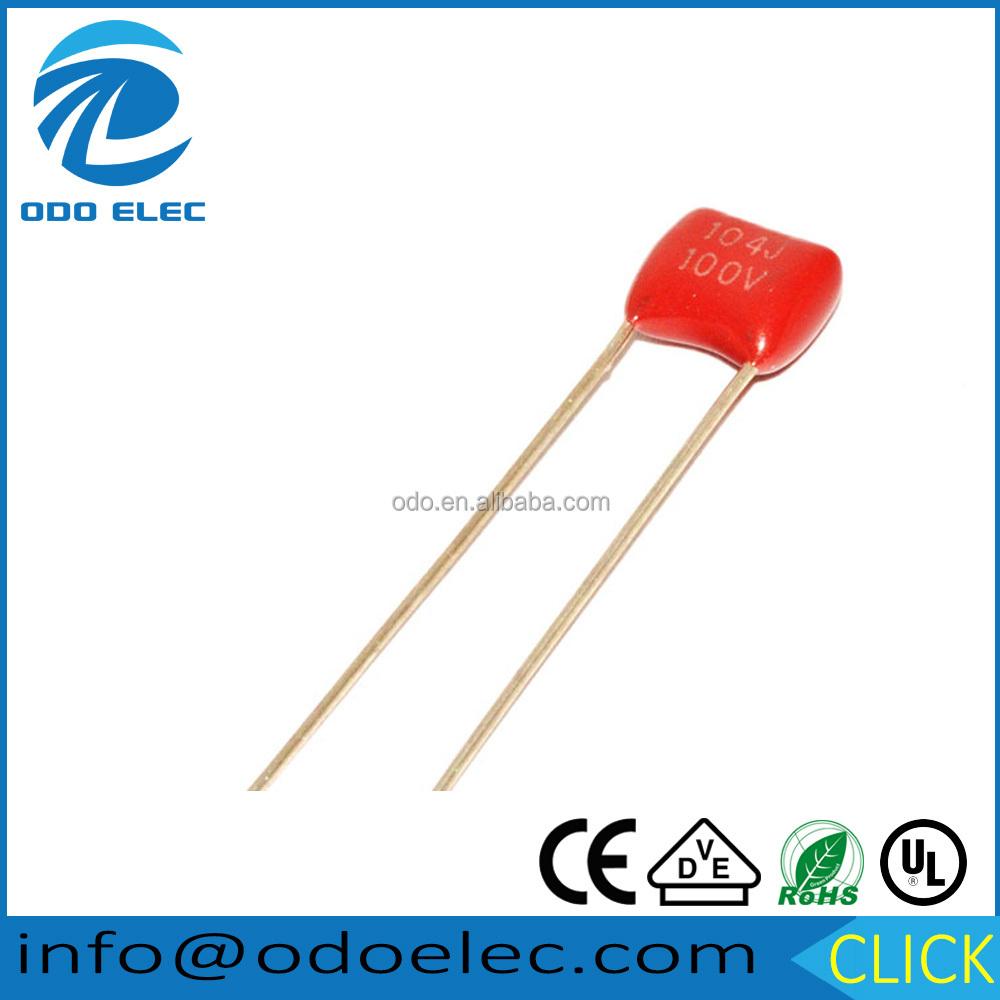 100 x 1500pF 0.0015uF 50V Ceramic Disc Capacitors