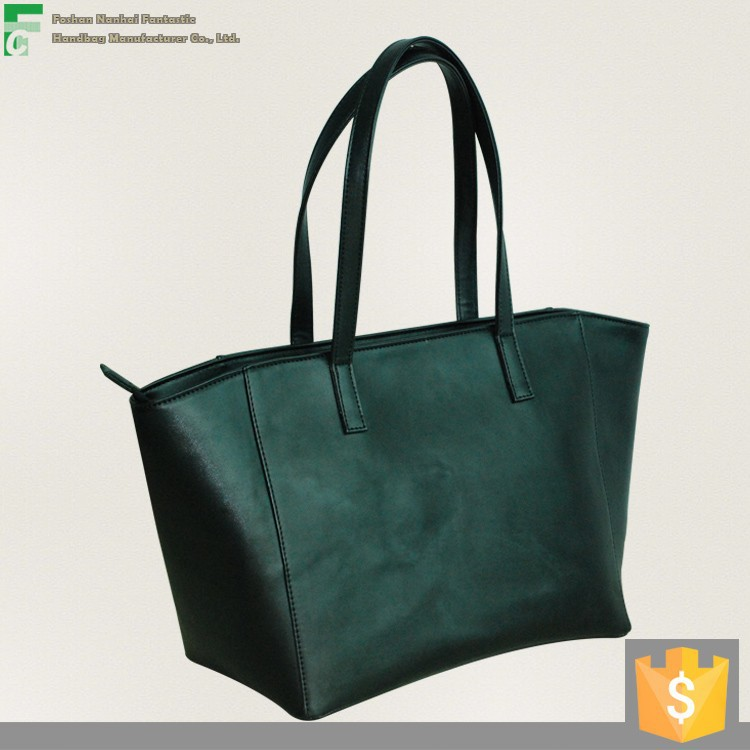Wholesale price under $4.5/pc Hot selling Fashion and top quality PU Ladies' handbag