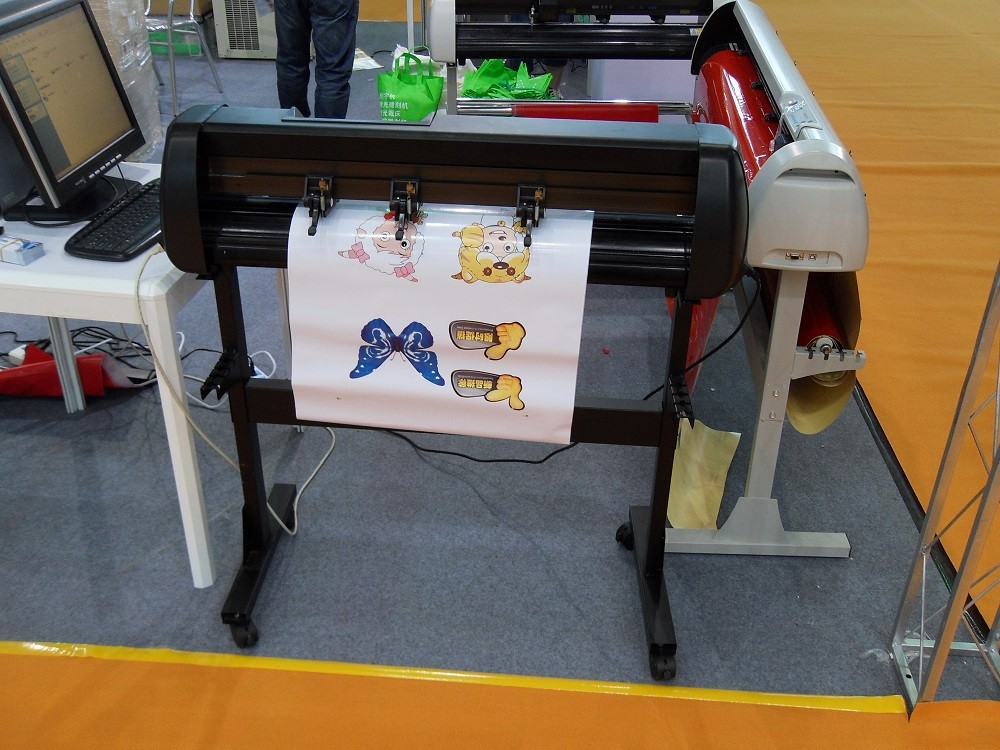 desktop mini plotter printer used to cutting vinyl and stickers
