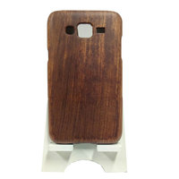 Free Samples 5 Inch Mobile Phone Back Cover Rose Wood Cell Phone China Cases for Samsung J5