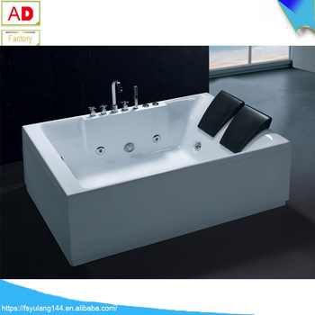 Ad-837 Portable Freestanding 2 Person Acrylic Walk-in Hot Tub Shower ...