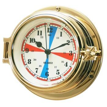 Nautical Instruments Brass Radio Room Clock