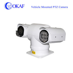 New model CCTV security camera vehicle mounted SDI-IP dual output hd auto tracking ptz camera with anti-shake technology