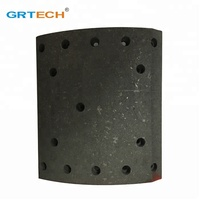 Friction material bus brake lining 29938