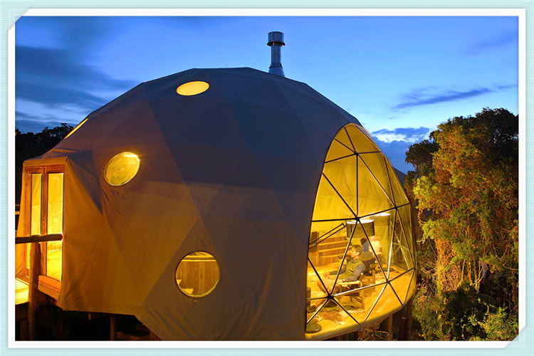 Geodesic Dome House/โดม House Living/IGLOO Dome House