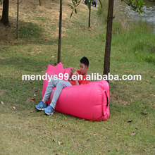 Wholesale Inflatable Air sofa Lounger Camping Sleeping lazy Bag sofa Bed Hangout Portable Air Inflatable