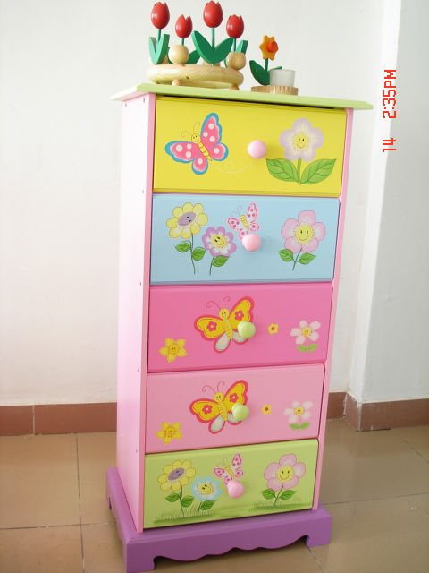 Attractive Children Room Wooden 5 Drawer Cabinet   Buy Wooden Cabinet,Living Room  Cabinet,Children Cabinet Product On Alibaba.com