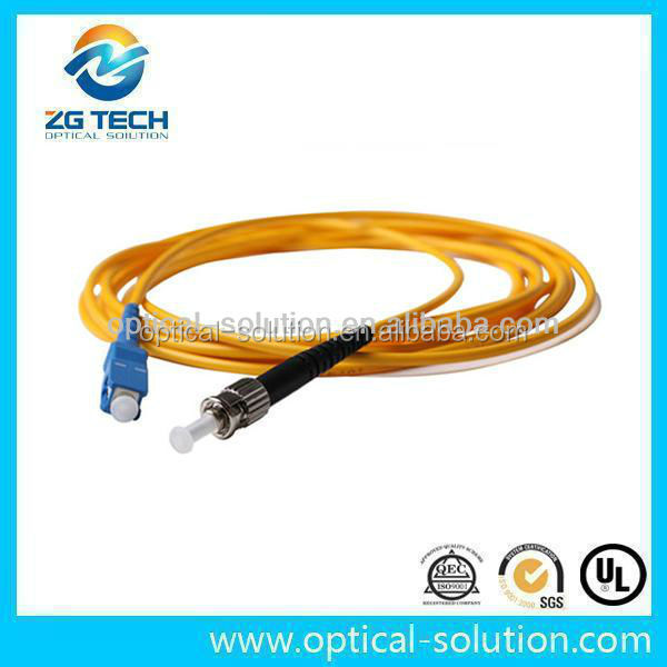 Shenzhen factory supply single mode lc-e2000 fiber optic dx lc patch cord for network