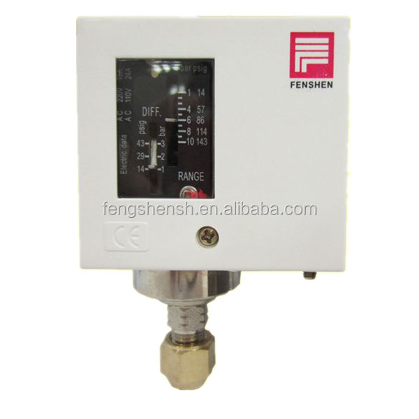 single pressure control switch for air condition