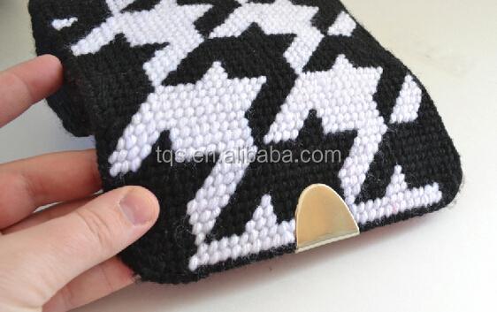 Plastic Canvas Clutchbag Sheets Shapes Cross Stitch Purse