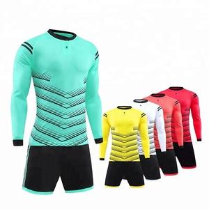 Factory price Cheap long sleeve football uniforms custom soccer jerseys 2019 5a0373500