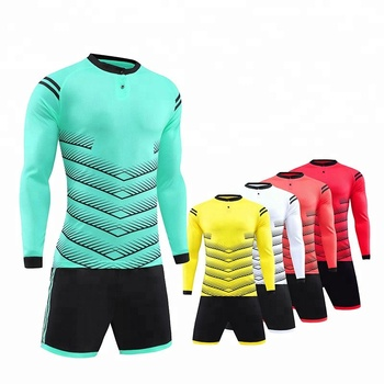8dcce832b Factory price Cheap long sleeve football uniforms custom soccer jerseys 2019