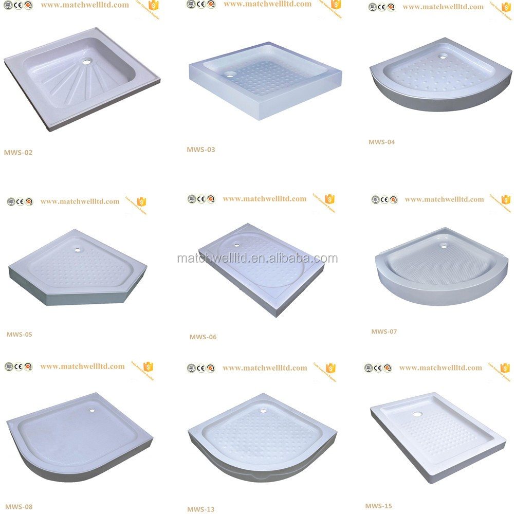 cheap price portable square used plastic acrylic abs sitting bathtubs