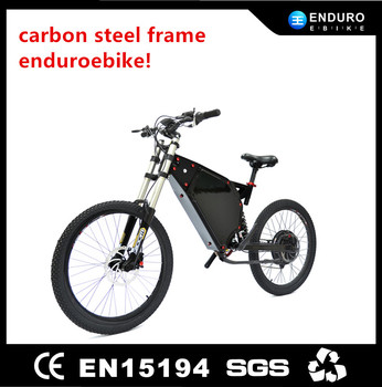 Enduro Ebike!2016 New Design 24'' Carbon Steel Frame 1000w ...