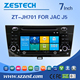 hot sell In dash car radio receive gps for JAC J5 with reversing camera digital tv