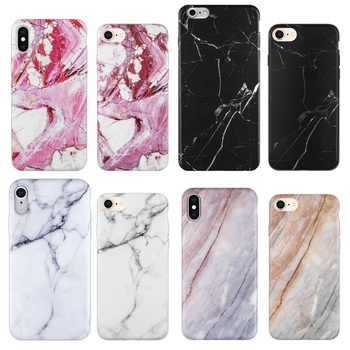Custom Printing White Marble Phone Case with Phone Holder Drop shipping Mobile Phone Accessories