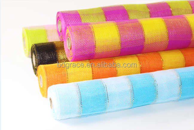 poly decorative mesh for floral and florist and wedding situation