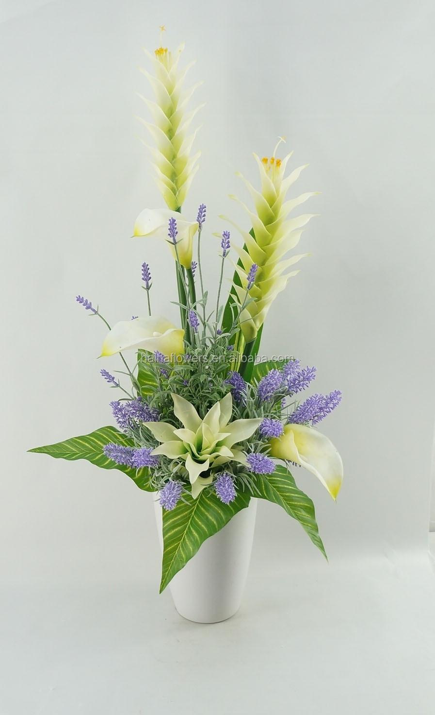 High Quality Indoor Home Decor Artificial Flower Arrangements ...
