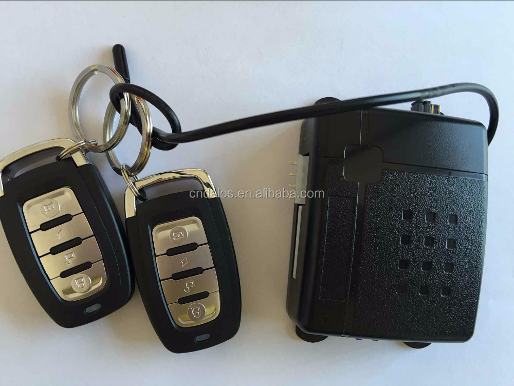 New Universal DLS-G01 G02 1-Way Car Alarm Vehicle System Protective Security System Keyless Entry Siren 2 Remote Control Genius