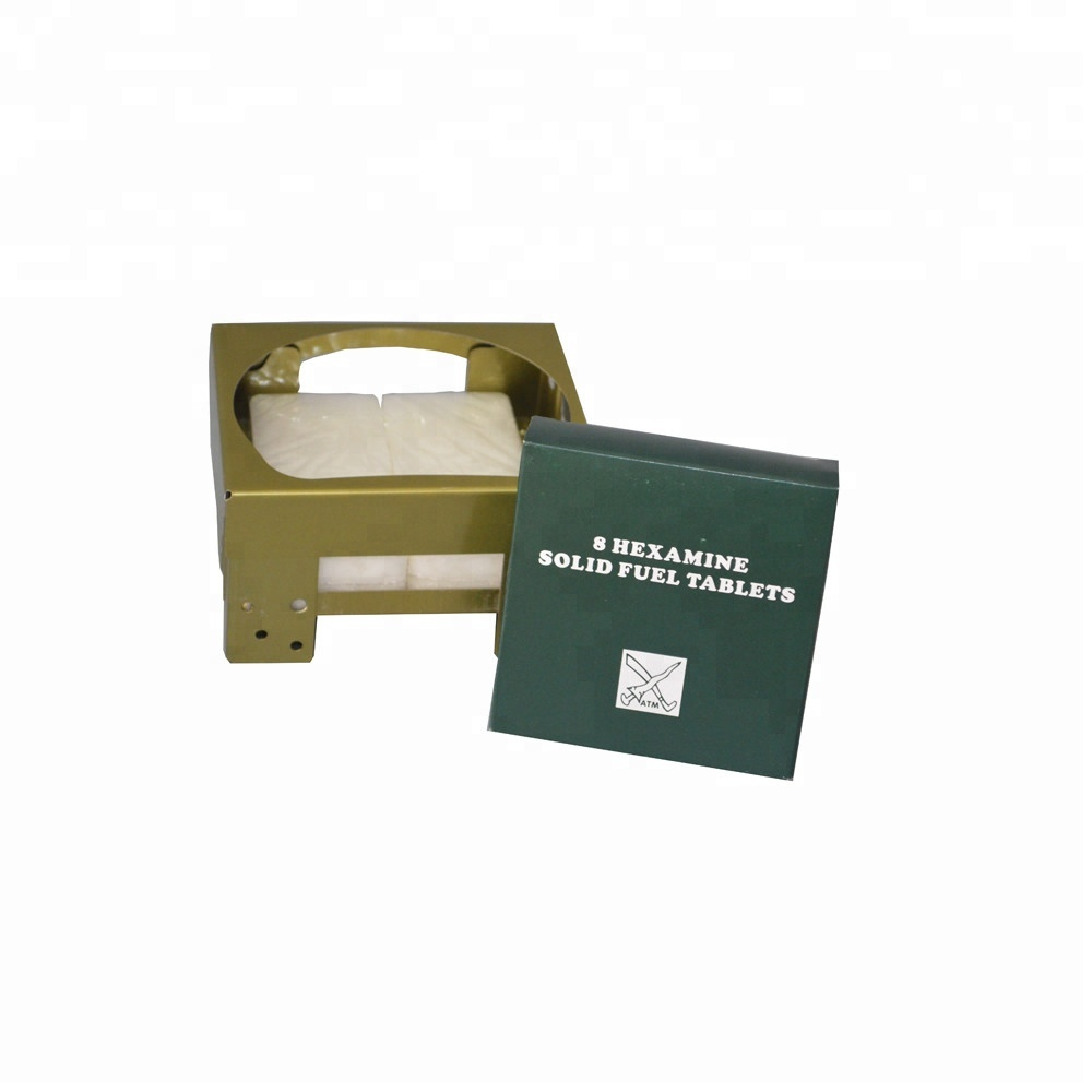 HongQiang Army Use Outdoor Portable Camping Hexamine Solid Fuel Tablets