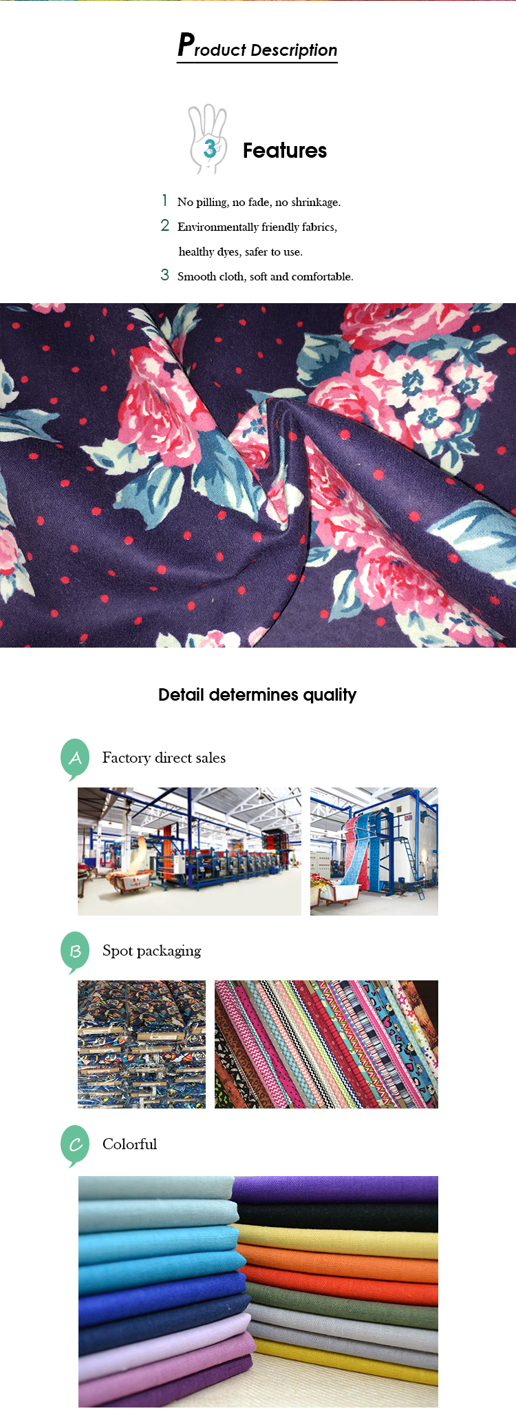 wholesale custom print cotton flannel shirt fabric