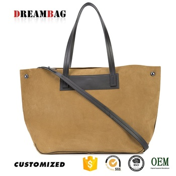Newest Guangzhou Oem Suede Durable South Africa Handbag Manufacturers