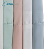 Organic copper infused bamboo cotton Solid color bed sheets sets