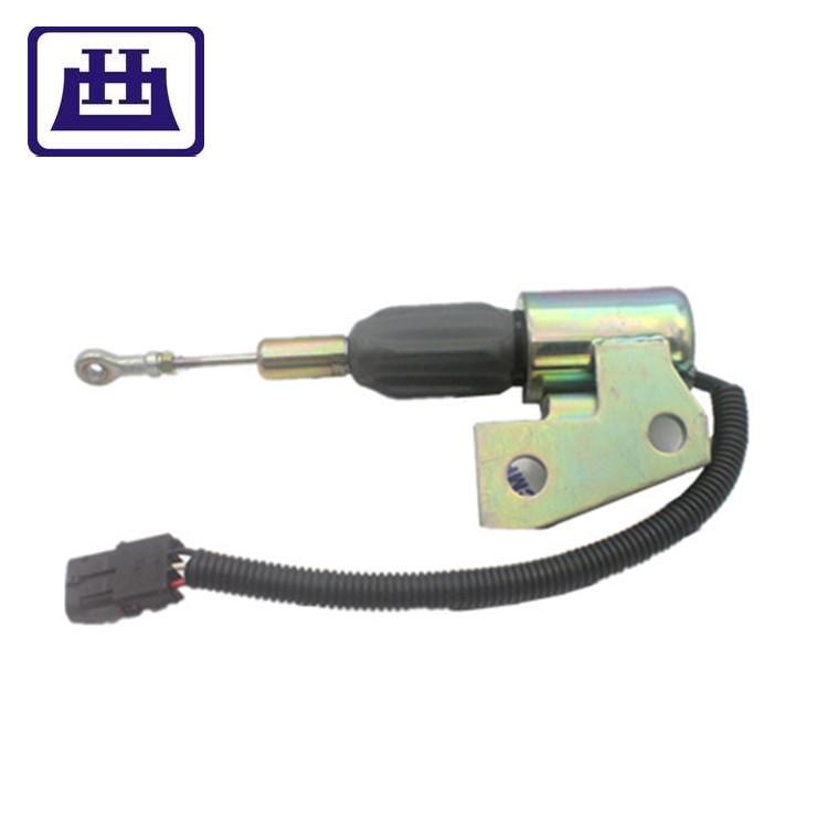 Construction Equipment Parts 3991168 stop solenoid 24V Shut