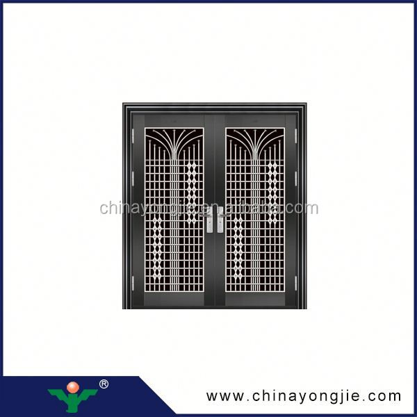 latest design Home Security Stainless Steel Door Design modern stainless steel door