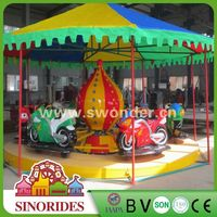 amusement park rides racing motor bike