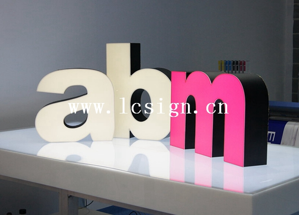 led letters to make signs 3d light box letter sign light up letters for sign