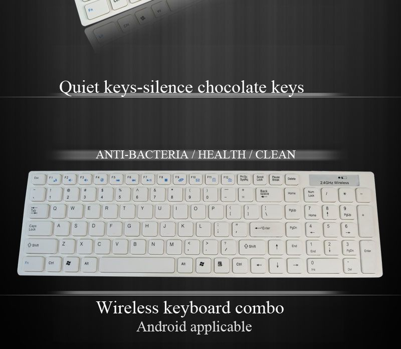 2.4g Wireless Keyboard And Mouse For Apple With Gracious Design ...