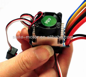 RC Car Brushless ESC 60A for 1/10 rc car