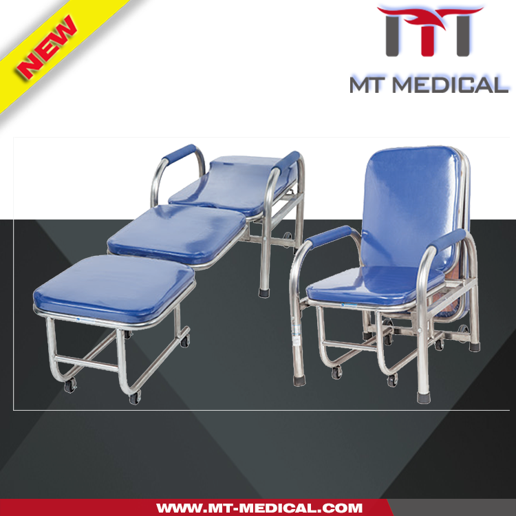 hospital attendant chair reclining bed chairs attendant recliner bed cum chair