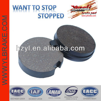 Hot sale motorcycle brakes pad motorcycles for sale