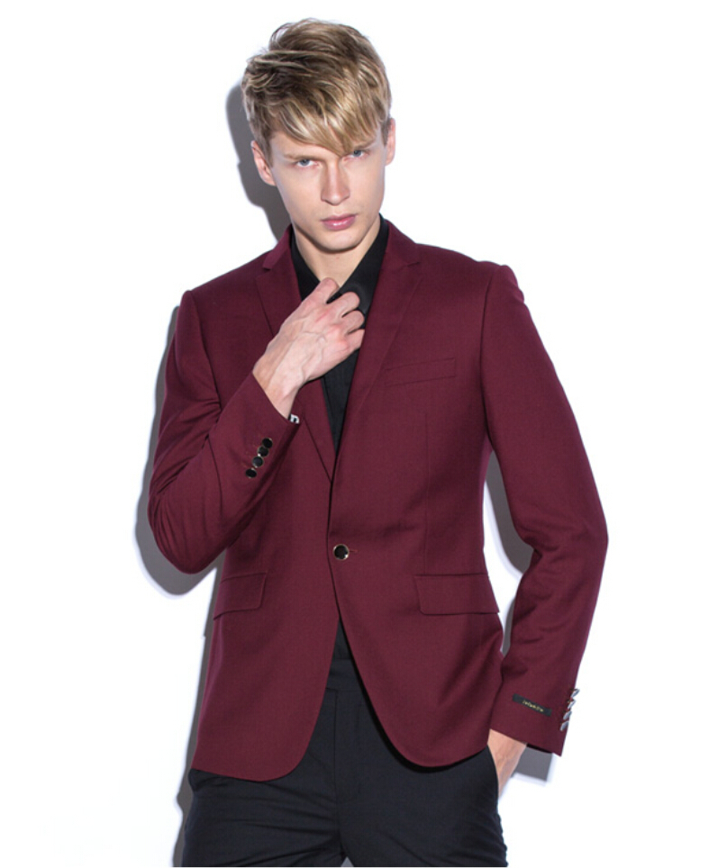 Get Quotations · (Coat+Pants) Handsome Cheap 2015 New One Button Slim Fit  Formal Party Men f19b51e42ef