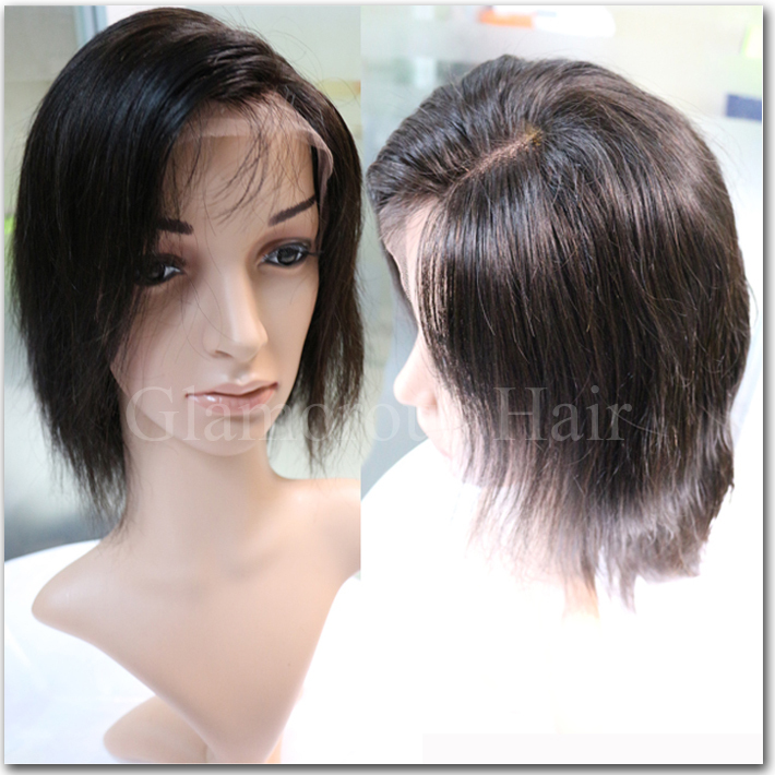 Brazilian full lace wigs  thick human hair lace front wig   lace front wig  for da89a6816194