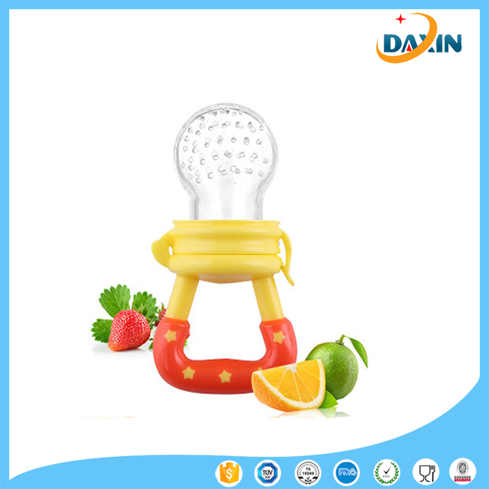 Baby Feeder Food Chew Feeding Pacifier Soft Safety Baby Nipple Silicone Tool