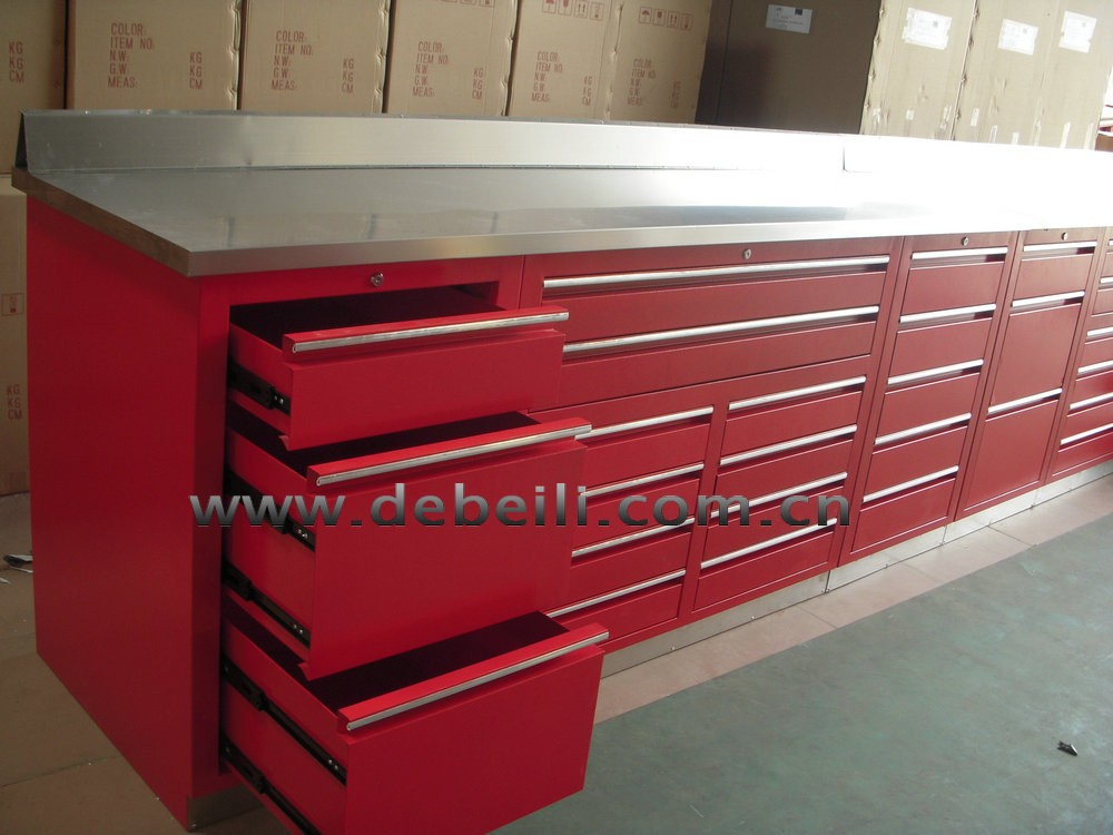 Reasonable Price Garage Metal Auto Repairing Tool Cabinet