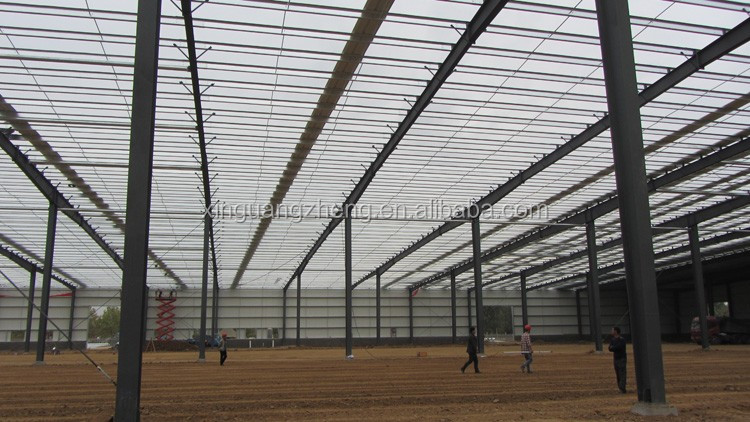 China cheap light prefabricated steel warehouse for sale