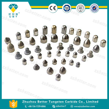 Cemented carbide mining inserts