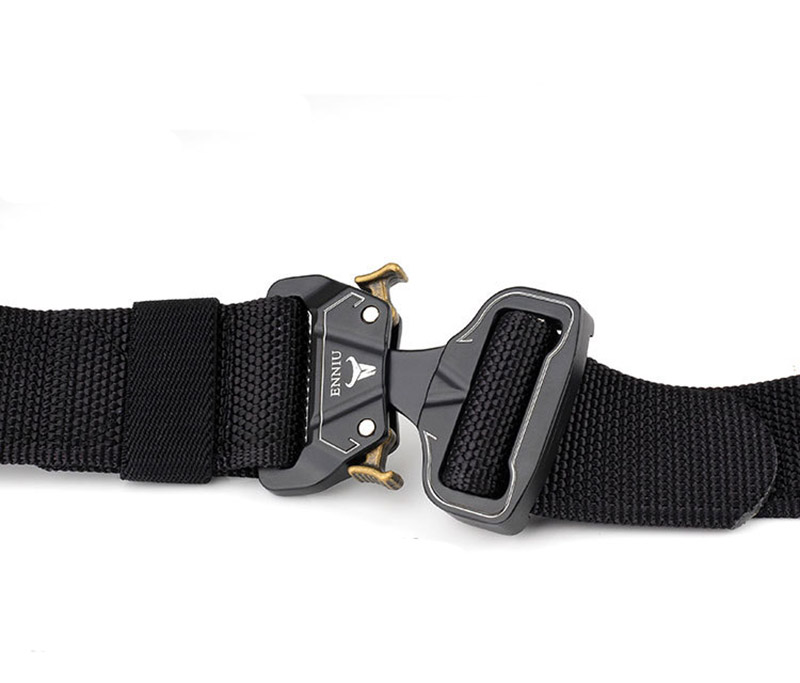 Adjustable hunting waist brand canvas nylon webbing custom military belt for army